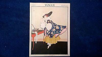 Vogue Magazine - January 1, 1915  Helen Dryden Cover ~ VG Lingerie Number RARE