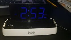 Ivee Alarm Clock IV2 Fully Working Near Mint Voice Controlled 40 commands