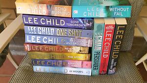 Lee Child novels Flinders Park Charles Sturt Area Preview