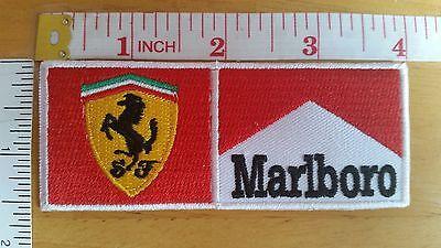 Ferrari Marlboro Logo Embroidered iron on patch badge applique emblem automobile