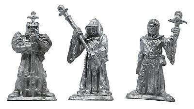 3 Piece 3-stage Cleric Set - 100% Lead-Free Pewter - Classic Fantasy Miniatures