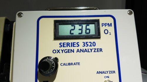 Series 3520 PPM Level Trace Oxygen Analyzer UHP Tube Welding arc machines, inc.