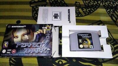 PERFECT DARK 64 Pal España Cib Completo Nintendo N64
