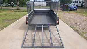 8x5 feet high side box trailer with ramp for HIRE Cheap rates Sydney City Inner Sydney Preview