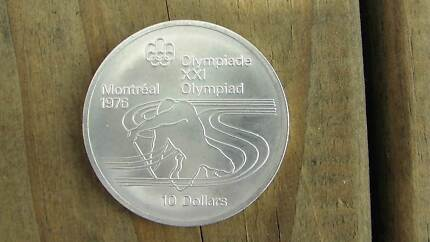 Canada sterling silver Olympic coin (48.6grams) Baldivis Rockingham Area Preview