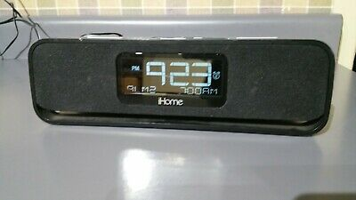 iHome IA91 Alarm Clock Speaker Radio 30-pin Docking Station iPod & Charger