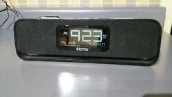iHome IA91 Alarm Clock Speaker Radio 30-pin Docking Station iPod & Charger
