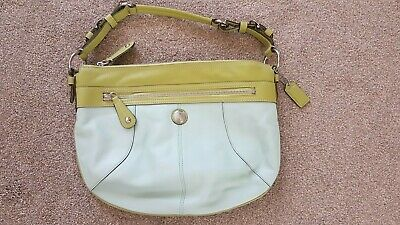 Coach leather bag - Lime/Mint Green - New without tags