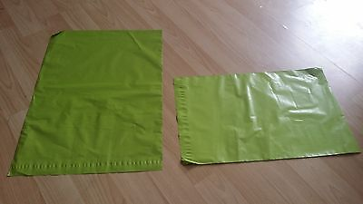 20 GREEN Mailing & Packaging Plastic Postal Bags Large 12 x 16 FREE POSTAGE