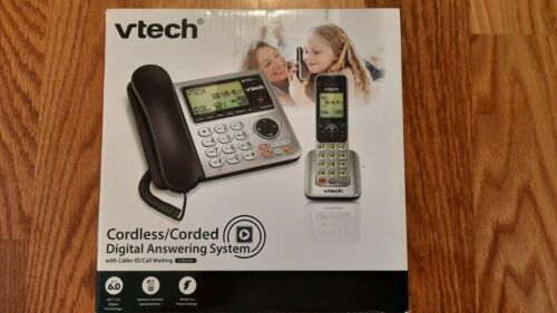 Vtech Cordless / Corded Digital Answering System Caller ID Waiting CS6649