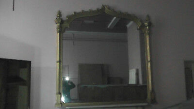 Large Vintage Decorative Wall Mirror very old and very heavy.