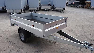 Pkw Anhänger NEU Hochlader Überlader 1,99 x 1,16 m, 750 kg NEU
