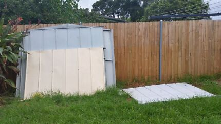 Garden shed and pavers Bidwill Blacktown Area Preview