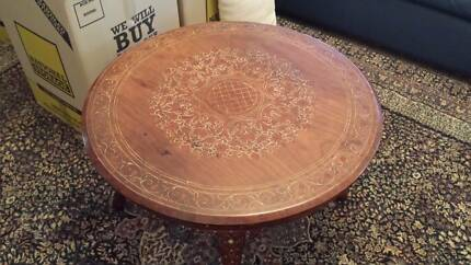 Marquetry Coffee Table Cedar Creek Gold Coast North Preview