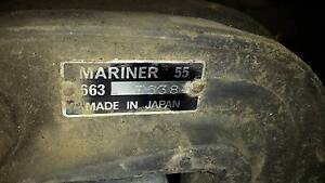 Mariner 55hp wrecking. Gearbox only available.
