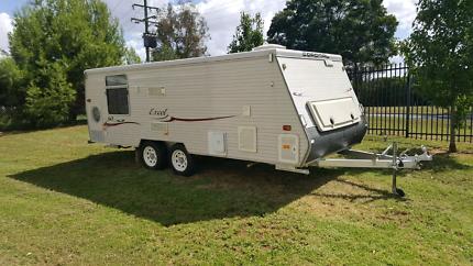 2008 coromal 18ft caravan