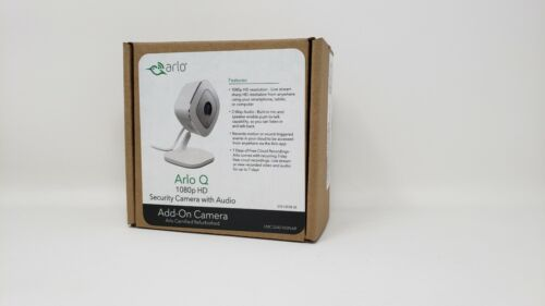 Arlo Q VMC3040 - 1080p HD Security Camera with Audio - New Openbox