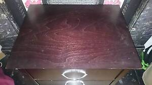 Black wooden bedside table, cheap!! Coogee Eastern Suburbs Preview