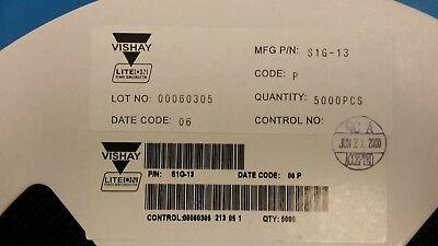 25 Pcs S1g-13 Vishayliteon Diode Switching 400v 1a 2-pin Sma Tr