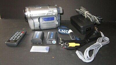 Sony DCR-TRV460 Digital Digital 8 Camcorder 2X Battery Memory Stick 990X
