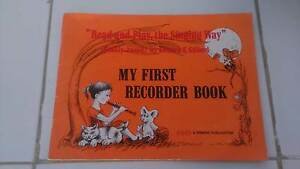 MY FIRST RECORDER BOOK Chapel Hill Brisbane North West Preview