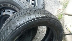 2 Toyota Yaris winter tires without rims 195x55x15
