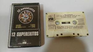 12-SUPEREXITOS-CAMILO-SESTO-1979-CINTA-TAPE-CASSETTE-SPANISH-EDIT-PAPER-LABELS