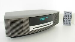 Bose Titanium Wave Music III CD Player Radio Alarm Clock Sound Touch Control