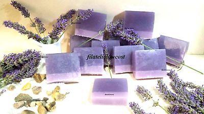 Jabon Glicerina 100% Natural Lavanda 100Gr Hand Made Soap