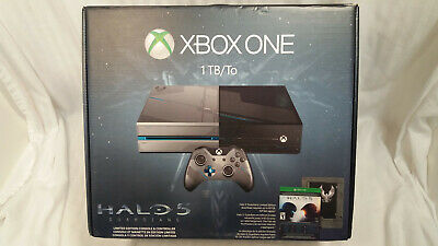 XBOX ONE 1TB Halo 5 Guardians Limited Edition Console NEW FACTORY SEALED!