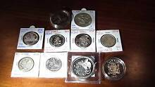 10 Silver uncirculated world coins  - free postage (no offers) Baldivis Rockingham Area Preview