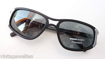 Marken-Sonnenbrille groß für Frauen schwarz Polaroid wenig Blendung Grösse M