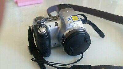 Fully functional Sony Cyber-shot DSC-H5 7.2MP Digital Camera - Silver