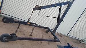 Gantry & engine crane both can be dismantled for transport Bega Bega Valley Preview