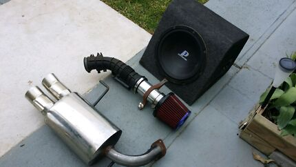 For sale Combo pod filter plus exhaust and speaker Seven Hills Blacktown Area Preview