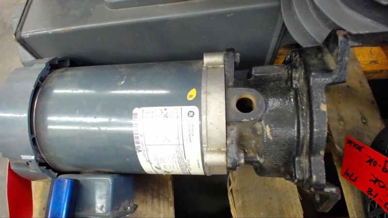 Ge 5K38Rn49A 1 Hp Ac Motor 200-230/460 Volts, 3450 Rpm, 2P, 56J Frame