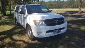2008 Toyota Hilux GGN15R SR Single Cab 4.0 V6 Automatic Long Rego