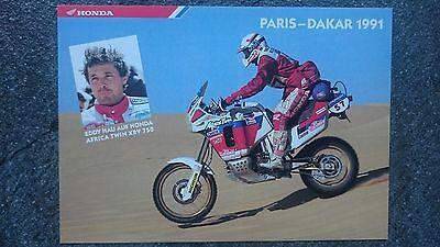 AK o.Orig.AG Eddy Hau BRD Motorradsport 1.WM 75 - Team Enduro Rarität!