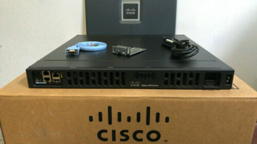 CISCO ISR4331-SEC/K9 Integrated Service Router ISR4331/K9  NO CPU CLOCK ISSUE