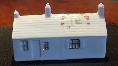 Vintage Crested China - First & Last Refreshment House In England E. James