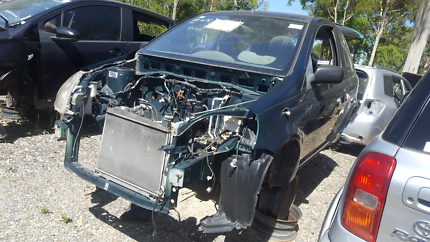 2002 TOYOTA ECHO GREEN FOR WRECKING