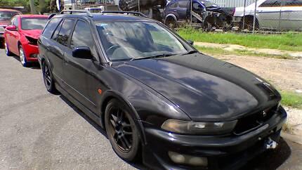 NOW WRECKING 1999 Mitsubishi Legnum Wagon