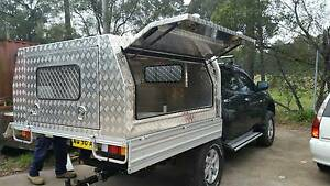 BRAND NEW!!! Double cab ute aluminium checkerplate canopy 2.5mm Windsor Hawkesbury Area Preview