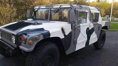 1989 am general m998 humvee hummer h1 6 5 diesel kevlar hard doors hummer 4x4 used am general. Black Bedroom Furniture Sets. Home Design Ideas