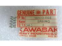 KAWASAKI H2//H1//S2 RIGHT HAND UPPER THROTTLE CASE 46041-006 NOS!