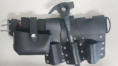 Scaffold Black Leather Tool Belt 4in1 Tools Hammer Ratchet Podger 1922 Mm