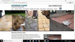 Driveway Cleaning Business for Sale, Leaflet Template & Website | £600+ Per Week