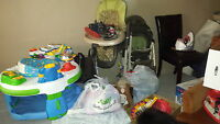 Various items. Baby boy clothes