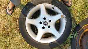 """Holden 17"""" alloy rim and tyre 215 55 R17 Ocean Reef Joondalup Area Preview"""
