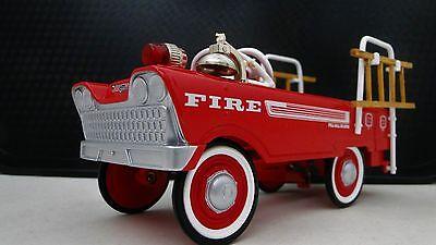 1950s Chrysler Pedal Car Fire Truck A Vintage Hot T Rod Midget Metal Show Model